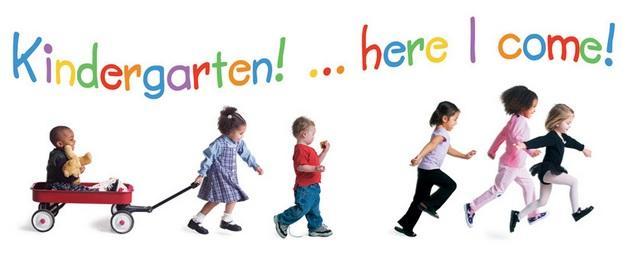 New Kindergarteners - Here We Come!