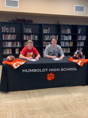 Conor Haviland (Pitt State) & Josh Hull (Emporia State) Signing Letters of Intent