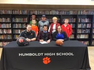 Anthony Doran Signing with Independence Community College
