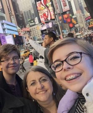 My kids and me in NYC, my favorite place!
