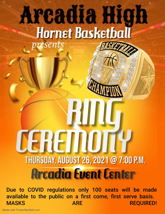 IT'S FINALLY HERE!  CHAMPIONSHIP RING CEREMONY TIME!!!