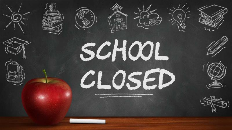SCHOOL CLOSED THURSDAY, AUGUST 27th