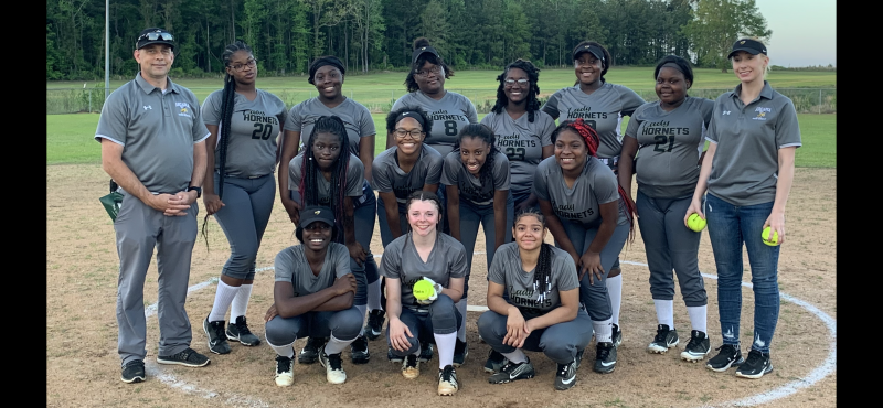 The Lady Hornets Softball Team Is PLAYOFF BOUND!