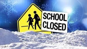 SCHOOL CLOSED TUESDAY, JAN 12th