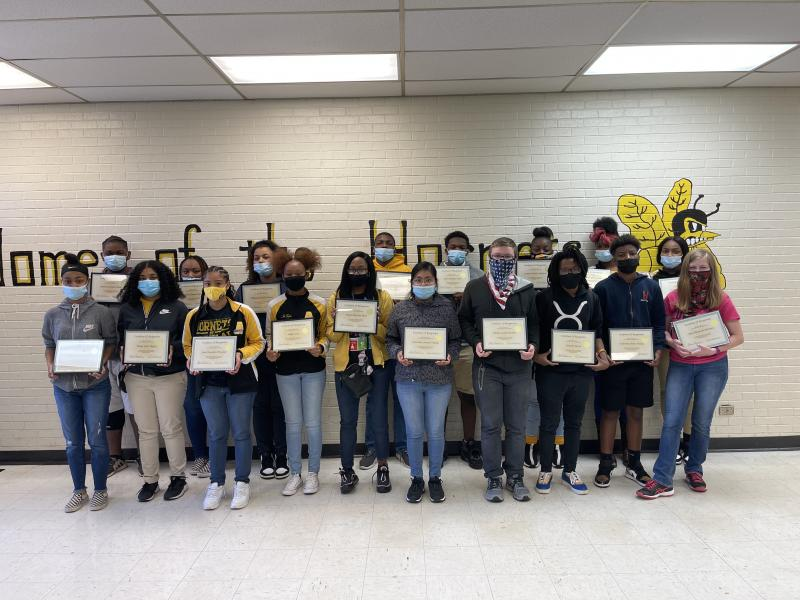 Honor Roll Students Receive Recognition