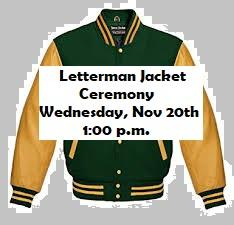 Letterman Jacket Ceremony