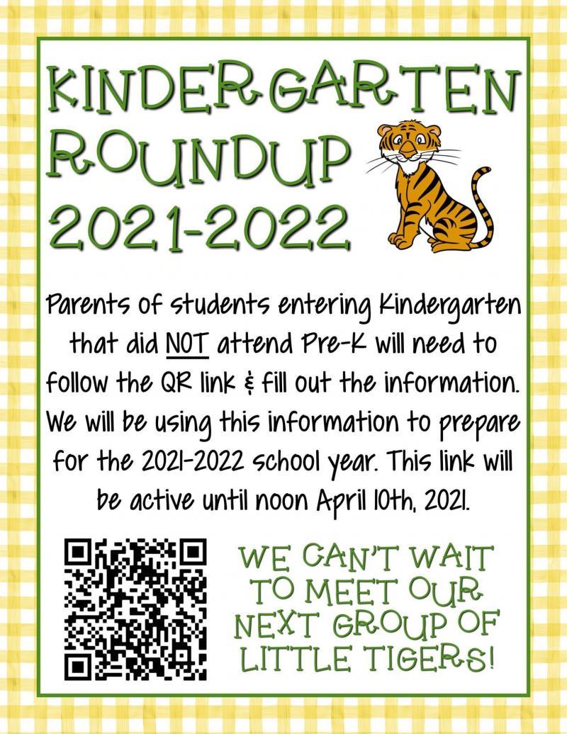 Kindergarten Roundup 2021-2022