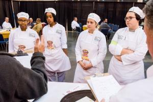 LA ProStart Invitational Judging