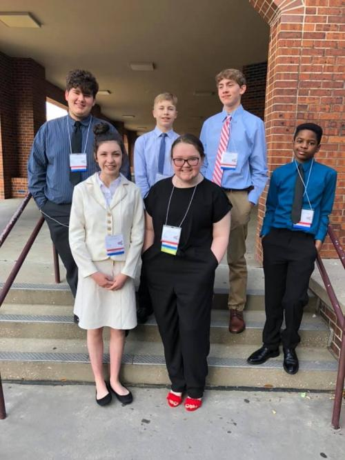 SHS Middle Level FBLA State Competitors