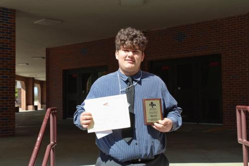 Mason Scott, SHS Middle Level FBLA National Qualifier