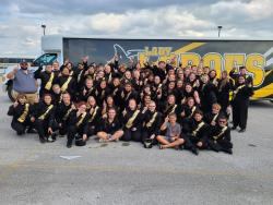 Cisco Mighty Lobo Band Takes Home the UIL Sweepstakes Award