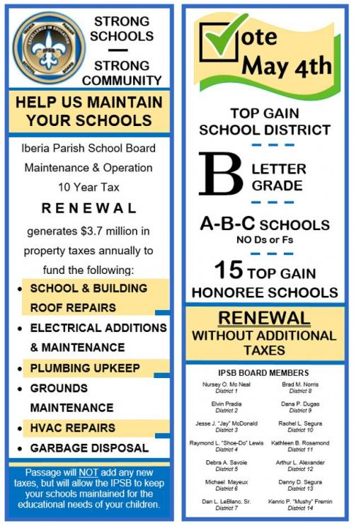 Tax Renewal flyer