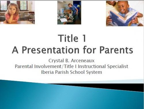 Title 1 PowerPoint