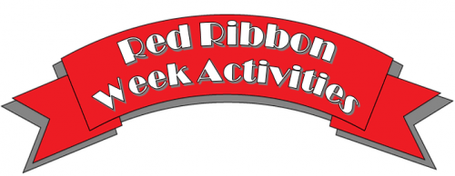 red ribbon week activities banner