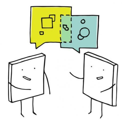 cartoon books talking