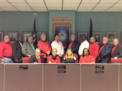 2019 School Board Members