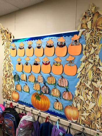 Pumpkin Patch of Students