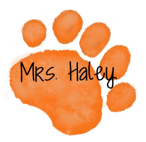 Orange Paw-Mrs. Haley