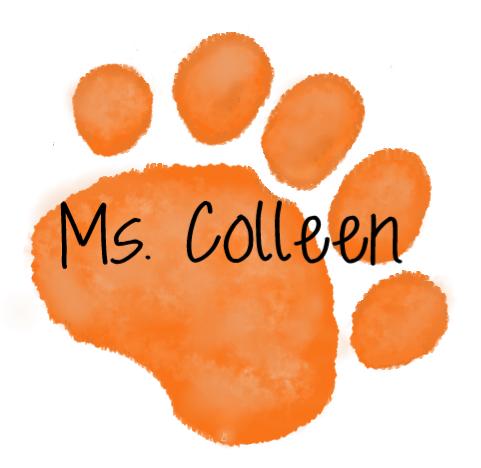 Orange Paw  Mrs. Ms. Colleen