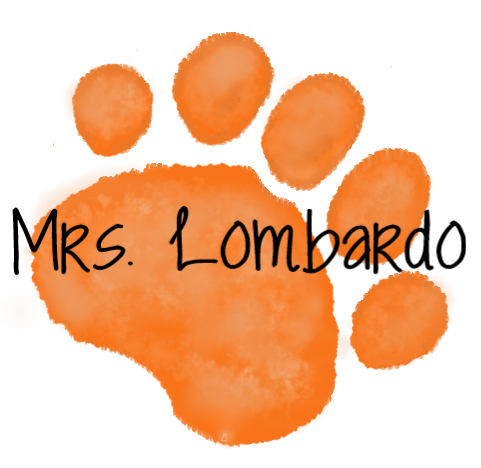 Orange Paw- Mrs. Lombardo