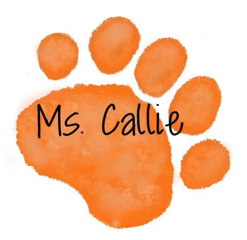 Orange Paw - Ms. Callie