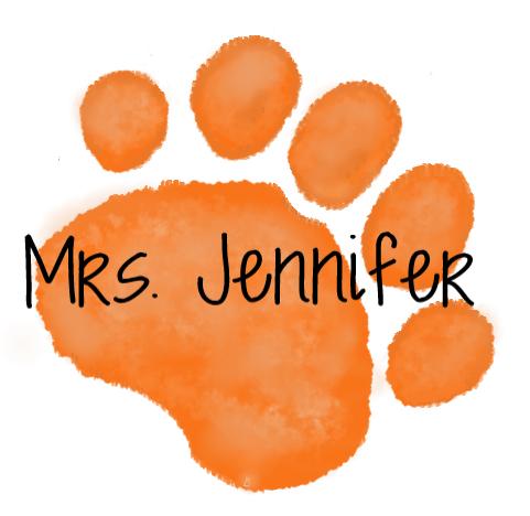 Orange Paw-Jennifer