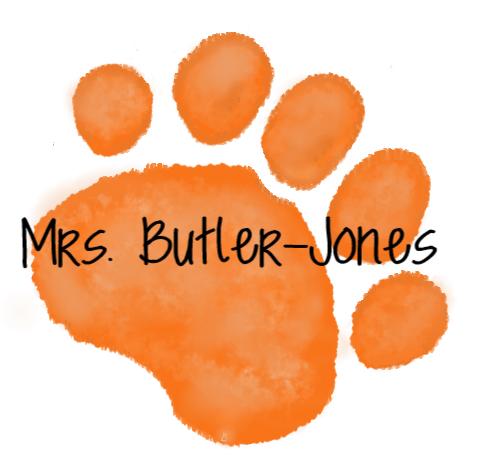 orange paw mrs. butler