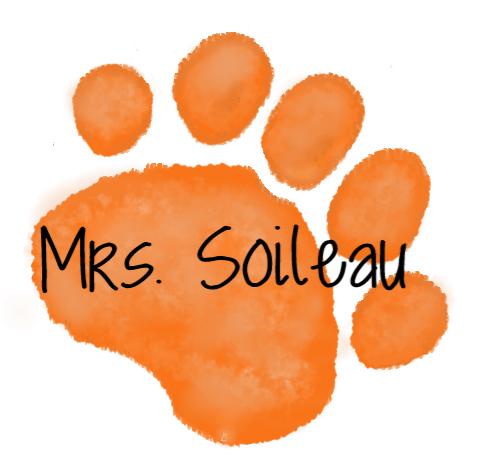 orange paw - Mrs. Soileau
