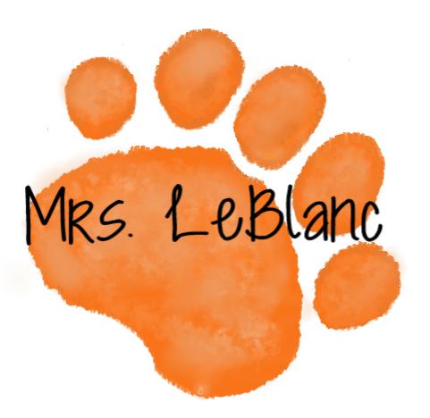 orange paw mrs. leblanc