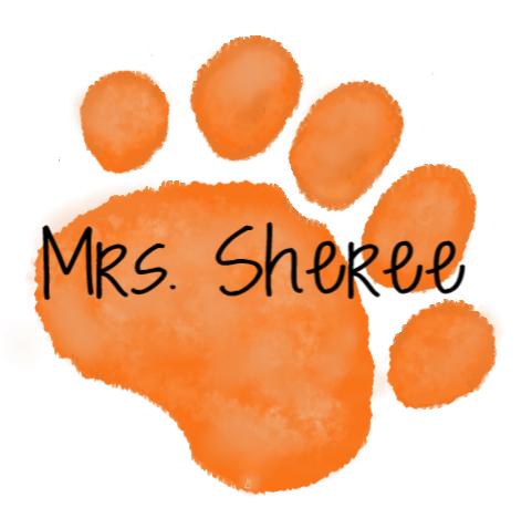 orange paw - mrs. sheree