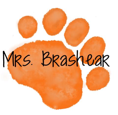 Orange Paw  Mrs. Brasher