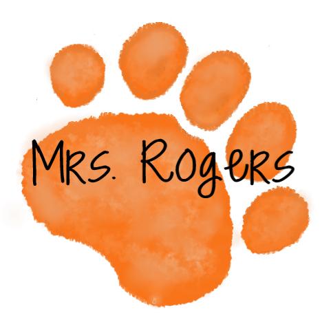 Orange Paw -  Mrs. Rogers