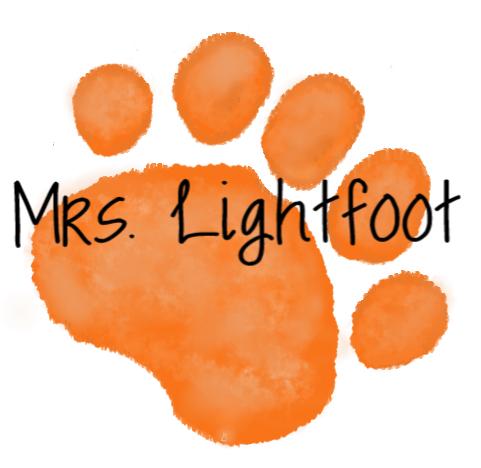 orange paw mrs. lightfoot