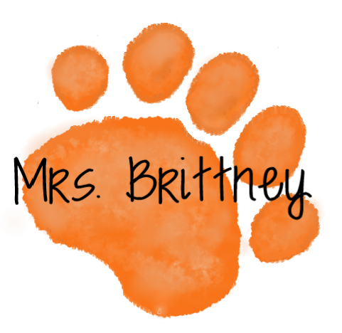 Orange Paw - mrs. Brittney