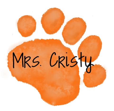 Orange Paw - mrs. Cristy