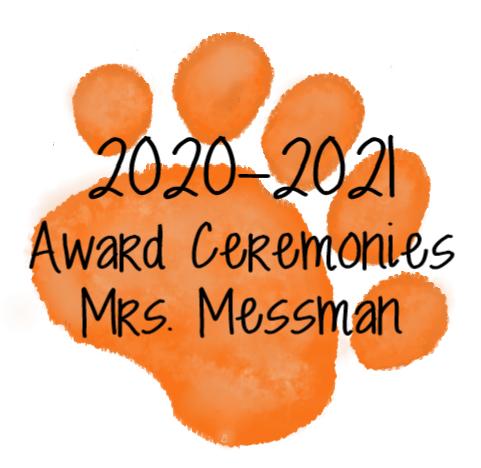 Orange Paw- Mrs. Messman