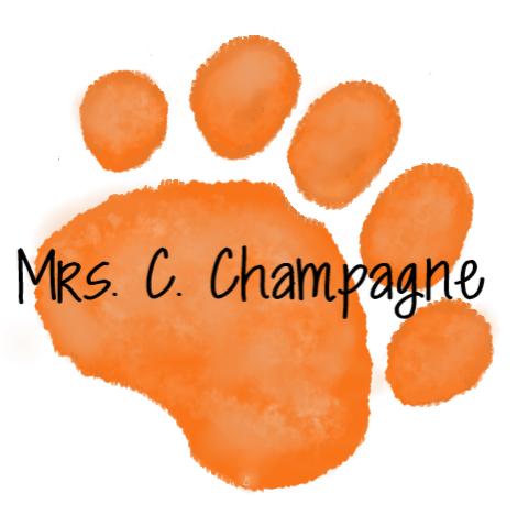 Orange Paw - C . Champagne