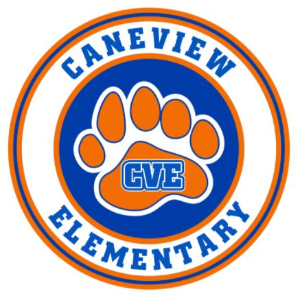 Round Caneview CVE Elementary Logo