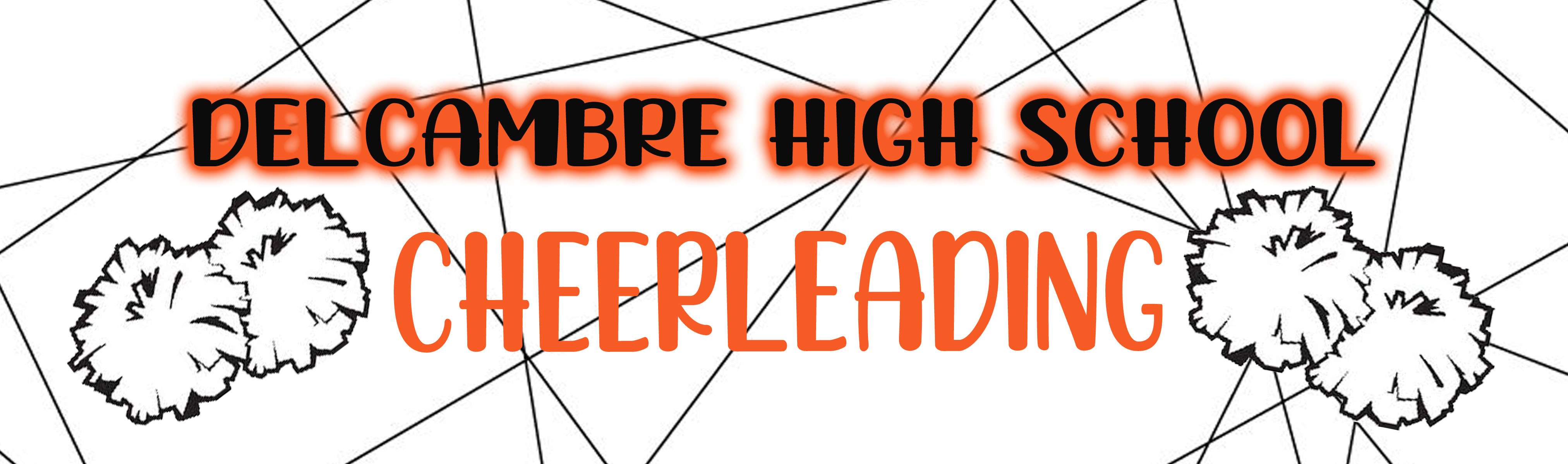 Cheerleading Banner