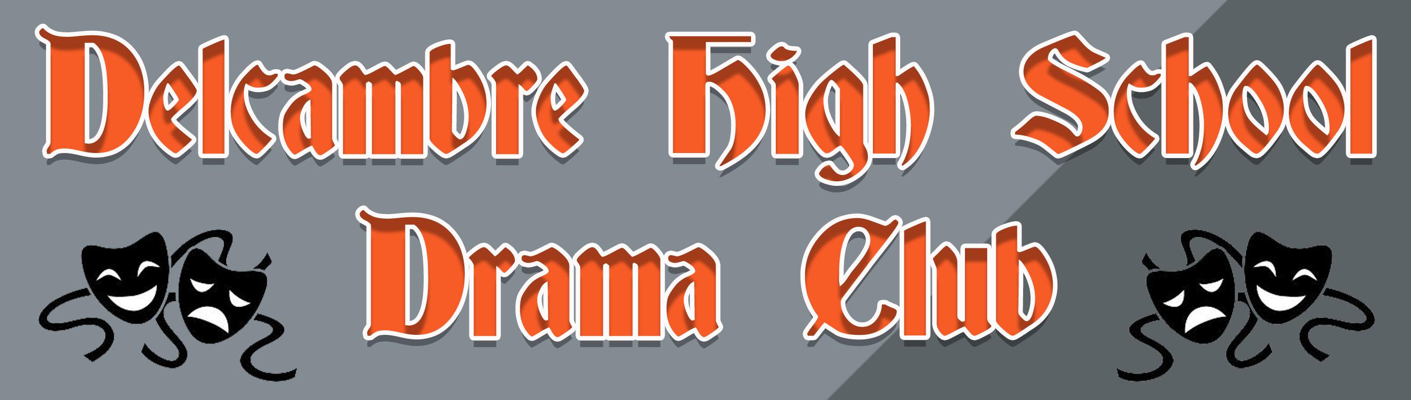 Drama Club Banner