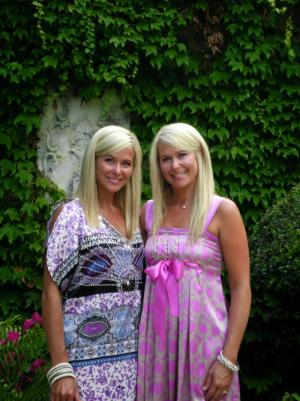 Me and my twin sister Staci