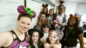 Ms. Moon's Class on Disney Day