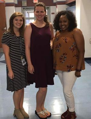 Ms. Brown, Mrs. Lawson, Ms. Dillard 2017