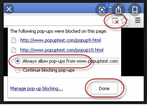 Diable Chrome Popup BLocker