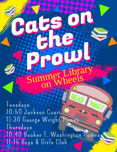 Cats on the Prowl: Mobile Library