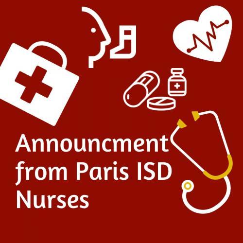 Nurses Announcement