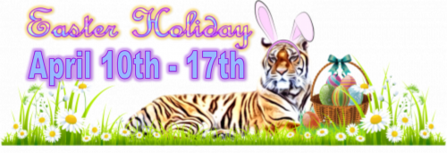 Easter Holiday - April 10th-17th