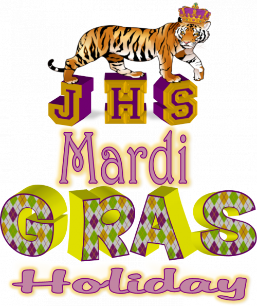 Mardi Gras Holiday February 24th - 26th