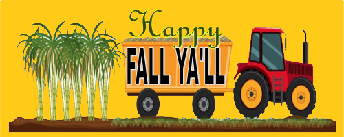Happy Fall Ya'll!