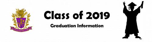 Graduation Information 2019